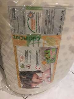 Mattress for baby bed cot
