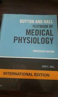 Guyton and Hall - Medical Physiology 13th ed.