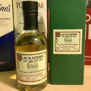 Blackadder Raw Cask Peat Reek Islay Single Malt Scotch Whisky 60.5%/20cl