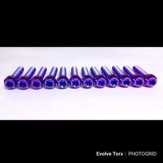 🔩Titanium Torx Bolt for Vespa/Gilera Transmission cover