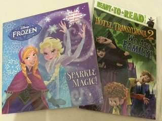 Ready to read hotel transylvania & frozen