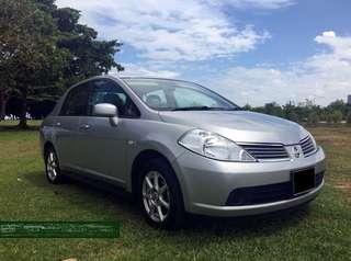 1 Week Car Rental Nissan Latio @ $350