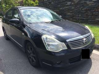 $1300 Monthly Car Rental Nissan Sylphy 1.5A