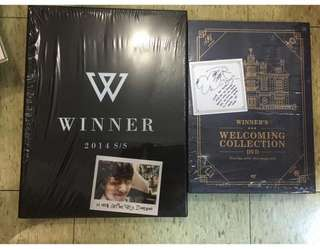 WINNER CD DVD 250@1