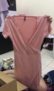 COTTON ON wrap dres