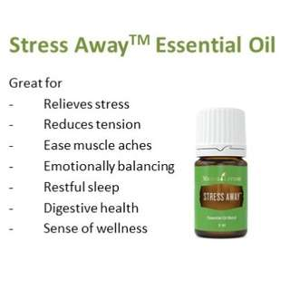 🚚 5ml Stress Away - Young Living Essential Oil
