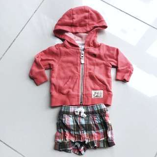 Carter's jacket and pants Set