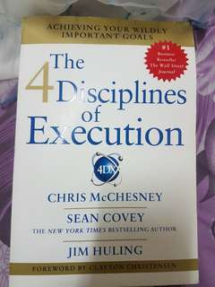 The 4 disciplines of Execution limited edition