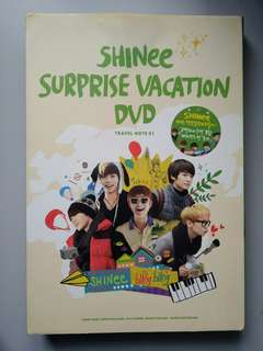 SHINee Surprise Vacation (DVD) (6-disc)