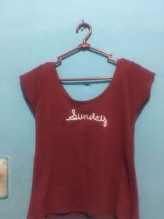 Kaos rajut good quality