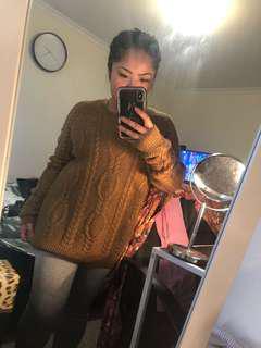 H&M oversize knit jumper