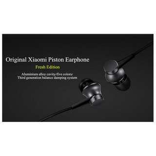 🚚 Xiaomi Earphone Mi Piston 3 Youth Version In-Ear Mic Earphones