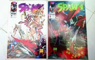 SPAWN COMICS #8 - 9