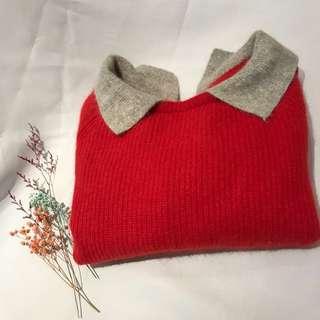 🚚 日系大紅毛衣🌺 #女裝半價拉