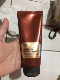 The body shop moroccan rhassoul body clay #maudecay