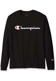 🔥CLEARANCE🔥 Authentic Champion Long Sleeve Script T Shirt