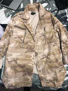 TOPSHOP military jacket