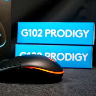 🚚 G102 Prodigy Gaming Mouse