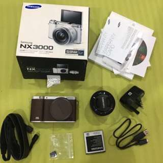 Samsung NX3000- Vlogging Cam