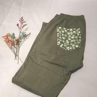 🚚 🇰🇷芥末綠長褲 #女裝半價拉