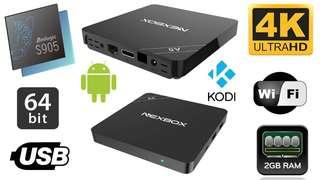 Nexbox A5 Android TV Box( 2gb Ram, 16gb Rom)