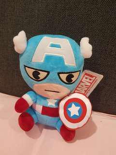 """Marvel Avengers Captain America 8"""" Plush toy"""