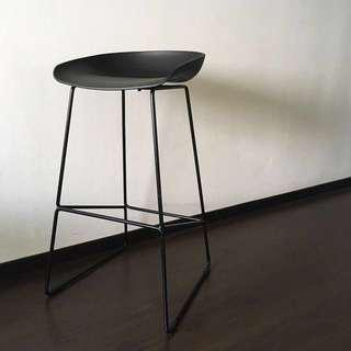 MODERN MINIMALIST BAR STOOL — HAY INSPIRED