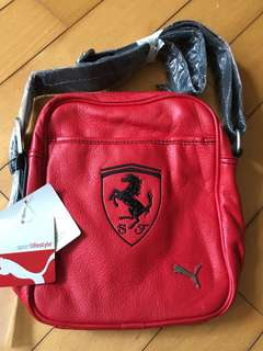 Puma Ferrari 袋 男女合用 全新