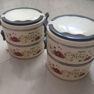 TableWare Tiffin Lunchboxes (Mangkuk Tingkat)