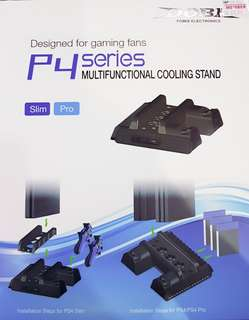 PS4 Multifunctional Cooling Stand