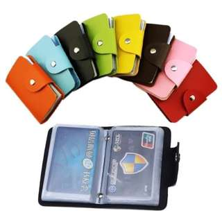 Card holder 24 slot