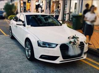 👰🎩 Audi A3 Wedding Car 💯