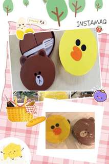 LINE friends lunch box🤗
