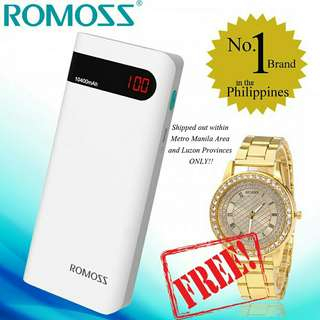 Original romoss sense4P 10,0l400mAh+FREE WATCH