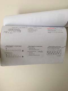 HP2300 Printed Lecture notes. Save the earth n TIME