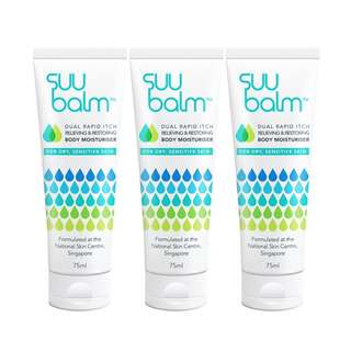 Suu Balm™ Dual Rapid Itch Relieving Moisturiser