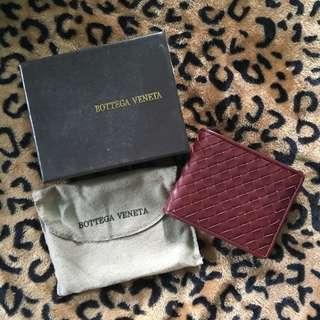 Bottega Veneta Wallet Maroon