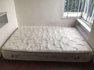 雙人床床褥
