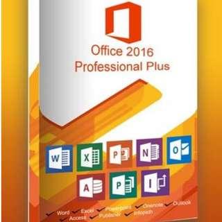 MC office 2016 pro plus