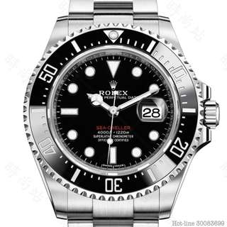 ROLEX 126600_BLACK SEA-DWELLER OYSTER 43MM STEEL
