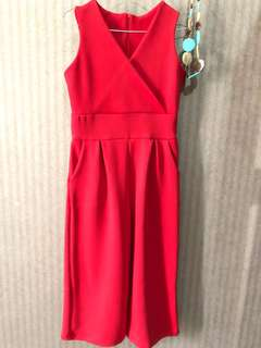 Lyly Red Jumpsuit