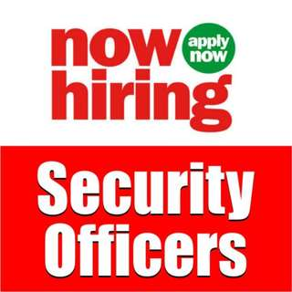 Security Officers - Call 6239 9129