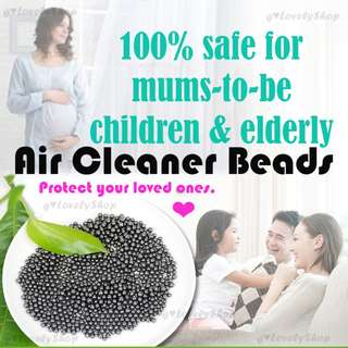 [Air Cleaner Beads] Nano Mineral Crystal Activated Carbon Deodorizer