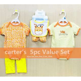 Carter's 5 Piece Value Set Outfit