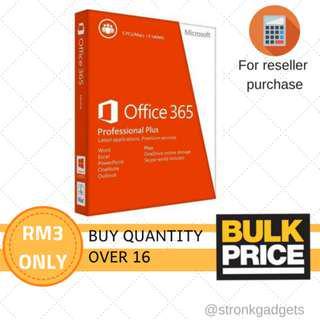 [WHOLESALE] Microsoft Office 365 Pro Plus