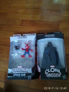 Spider-ham and cloak
