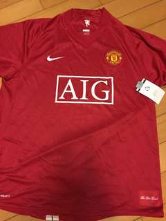 Manchester United 曼聯主場 全新 球衣 Nike Ronaldo Giggs