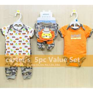 Carter's 5 Piece Value Set Outfit