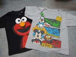 Combo: Disney T-shirt