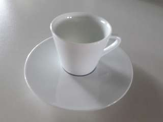 Nespresso Ritual cup and saucer